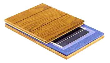 暖テックは、遠赤外線を発する特殊インクを印刷したフィルムが発熱体。